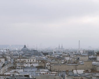 Roofs of Paris | Autographed poster