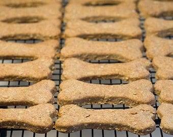 Dozen Organic Dog Treats, All Natural Vegetarian Dog Treats, Gluten Free Dog Treats, Peanut Butter Dog Bone Treats, Homemade Dog Biscuits