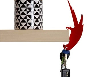 Hold it - balance hanger - Nina's Beak, Bird hook, Hook rack