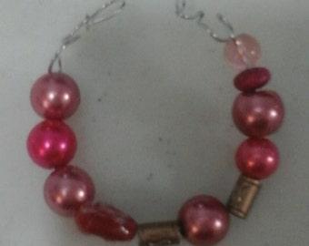 Bracelet: Soft pink