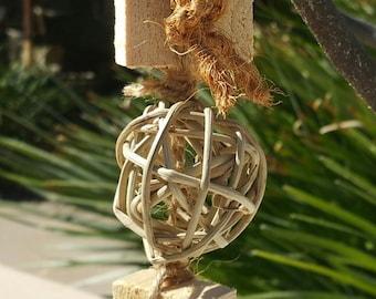 Block - All Natural Shredding Bird Toy