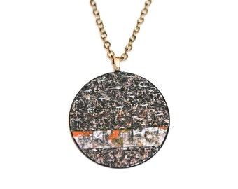 ASPHALT  photo necklace
