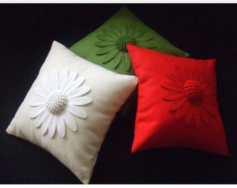 Daisy Cushion Cover by Isolyn. A lovely addition to an interior available in a great range of colours