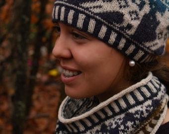 PDF Knitting Pattern - Iditarod Hat