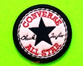 BACK IN STOCK! Converse All Star Chuck Taylor Circle Logo Iron or Sew On Patch
