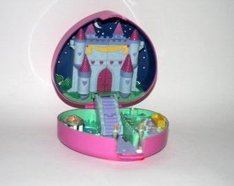 Polly Pocket Starlight Castle Case Only Bluebird Vintage 1992