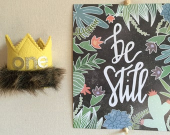 MaxCrown// Where the Wild Things Are// Max Birthday Crown// Wild One Crown// Boy birthday hat