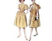 50s Cocktail Dress pattern Coat pattern 34-26-36 Evening wear Puff Sleeves Swing Coat pattern Bust 34 mccalls 5076