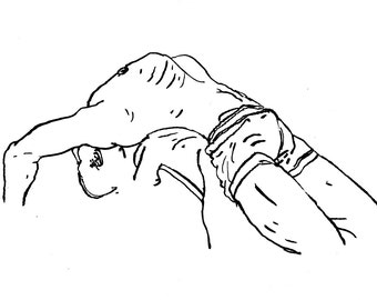 Original Drawing - Male 05