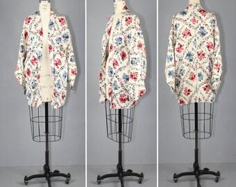 silk jacket / haori / vintage kimono / MARGAUX silk kimono