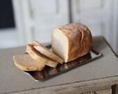 Dolls House Miniature Sliced Bread Loaf