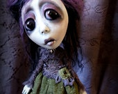 Loopy Southern Gothic Art Doll Victorian Dark Goth Mabel Morris
