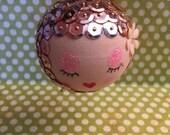 She's a Peach Betsy Ornament