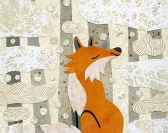 Fox In the Seasons-Winter