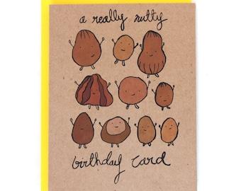 A Really Nutty Cute Birthday Card
