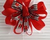 Red Bow For Valentines Day