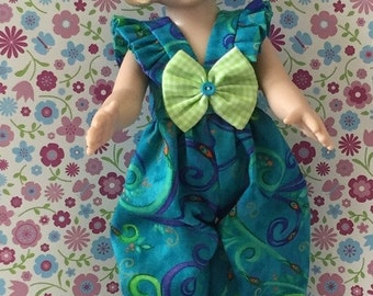 Lil Sassy Looking For The Peacock Eye Romper With Headband And Bow For  10 Inch Tonner Patsy By TnTCreations