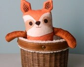 Raccoon Soft Doll, Small Plush Cute Forest Animal Doll, Woodland Fun Plush Doll, One of a kind Children Doll, Children Raccoon Plush Toy
