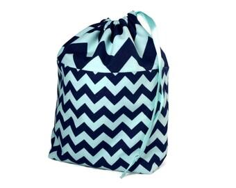 Crochet Project Bag, Project Bag, Sock Project Bag