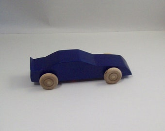 Wooden Stock Car