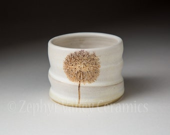 Pottery Barware - Whiskey Rocks - Votive Candle Holder - Ceramic Stoneware Cup - Ceramic Barware - Cotton Swab Holder