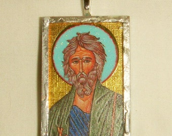 St Andrew the Apostle Pendant inv1695