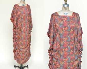 1920s Cocoon Gown --- Antique Silk Art Deco Dress