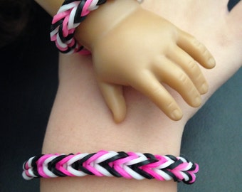 "Doll and Me Bracelet Set ~ Fits 18"" Dolls(American Girl, Our Generation, etc)"