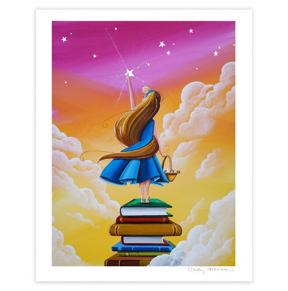 Dreamer Series Limited Edition - Bedtime Stories - Signed 8x10 Semi Gloss Print (10/10) LAST ONE
