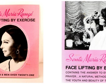FACE LIFTING By EXERCISE Senta Maria Runge 6th Edition of 1961 Copyright