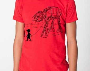 My Star Wars AT-AT Pet kids graphic tee, kindergarten shirt, pre school shirt, star wars t shirt, toddler, youth, funny