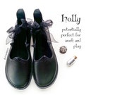 Comfort shoes, HOLLY, Handmade Leather Womens everyday Shoes by Fairysteps in Black