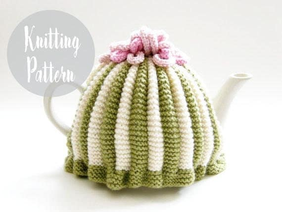 Tea cozy knitting pattern tea cosy patterns by handylittleme