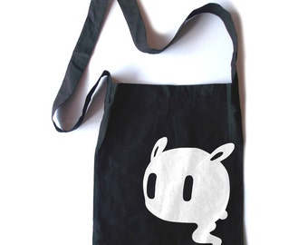 Pastel Goth Tote kawaii creepy cute tote bag halloween bag gothic lolita crossbody tote