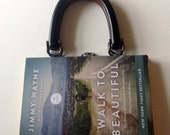 Walk to Beautiful - book purse - custom order