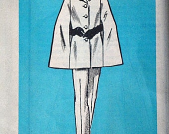 Vintage 80's Mail Order 4848 Sewing Pattern, Misses' Cape And Pants, Size 16, 38 Bust, Uncut FF, 1980's
