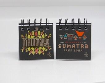 STARBUCKS Reserve Tasting Cards Notebooks-set of 2