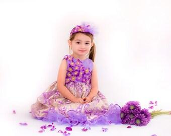 Flower Girl Dress - Boutique Flower Girl Dresses - Custom Flower Girl Dress - Girls Pageant Dress - Formal Flower Girl Dress - size 2T to 8