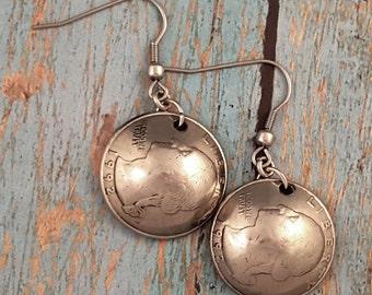 Coin Earrings 1992 Domed Quarter ME1805-TYR1992