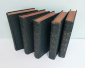 Works of Edgar Allan Poe Book Lot, Home Decor Collection, Instant Library, The Tell-Tale Heart, Poetry & More, Publishers Guild, Circa 1920s