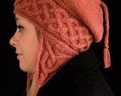 Kolmen Earflap Hat Knitting Pattern - PDF