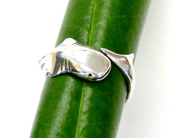 Whale Shark Ring Solid Sterling Silver Whale Shark  Ring 529