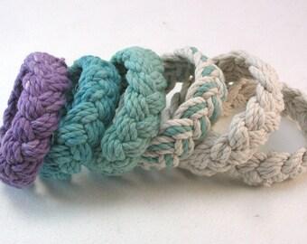 soft cotton rope bracelet turks head knot bracelet nautical sailor bracelet wristband fisherman bracelet 4001
