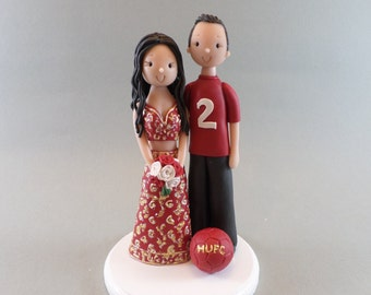 Cake Toppers - Bride & Groom Personalized Wedding Cake Topper