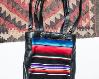 Handcrafted Lola Leather Tote Laptop Bag by Bird Trouble in Chicago, IL MADE to ORDER