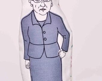 Agnes Macphail Finger Puppet