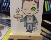 Original drawing ACEO Dean Winchester