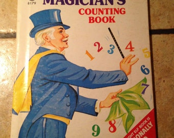 1973 The Magician's Counting Book Children's Elf Book
