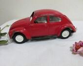 Metal Tonka Volkswagon Beetle Herbie the Love Bug