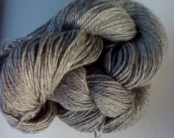 Shetland yarn, dk weight, grey